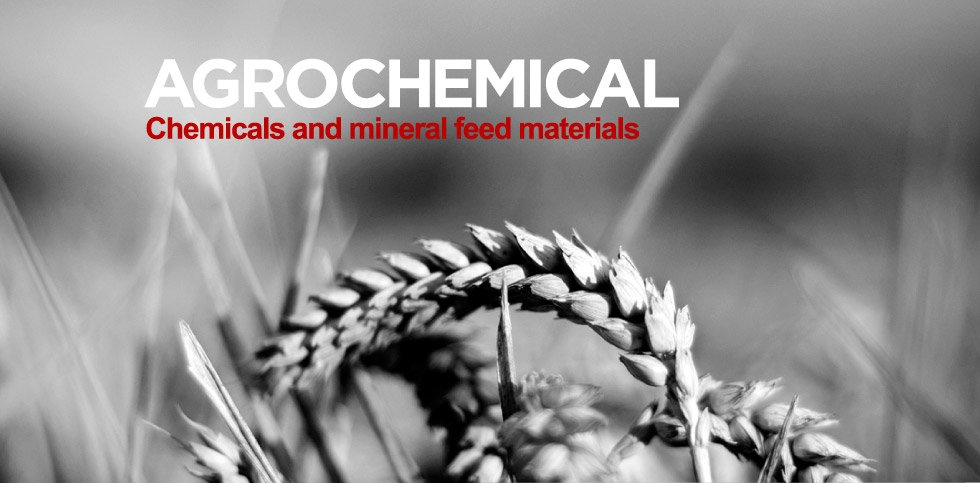 agrochemical chemicals and mineral feed materials